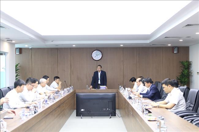 Đoàn công tác Công đoàn Điện lực Việt Nam làm việc với Công đoàn  EVNGENCO1
