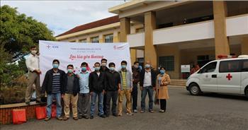 Nữ cán bộ y tế tận tâm của Công ty Thủy điện Đại Ninh